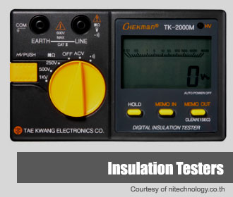 Insulation Tester Suppliers in Thailand